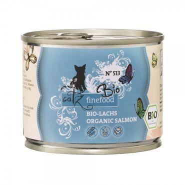 Catz finefood Bio N°513 - Lachs 200g – Bild 1