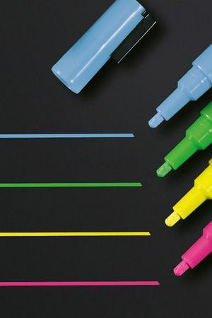Kreidemarker 20-bunt-Sigel-runde Spitze-1 bis 2mm
