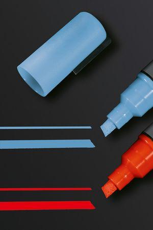 Kreidemarker 50-2er Set-Sigel-Keilspitze-1 bis 5mm