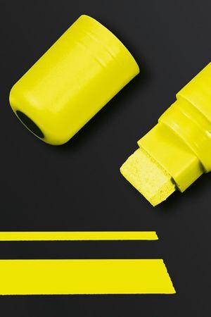Kreidemarker 150-gelb-Sigel-Keilspitze-5 bis 15mm