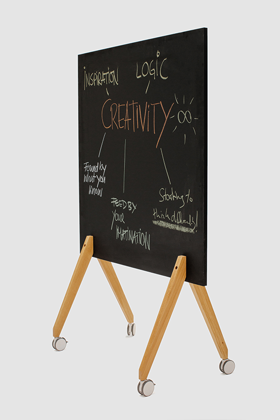 Chalkboard Write It on Tour, black, width 120