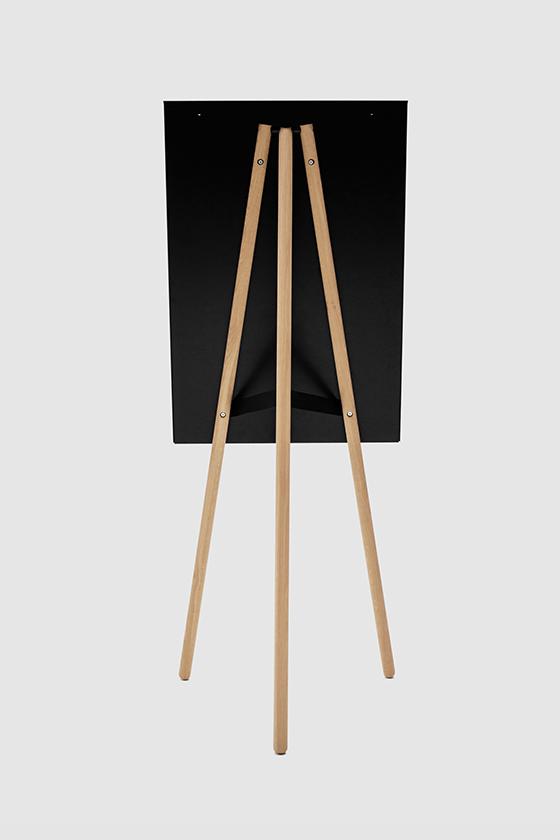 Flipchart-Design-klappbar-Holz-magnetisch-Foldable-schwarz