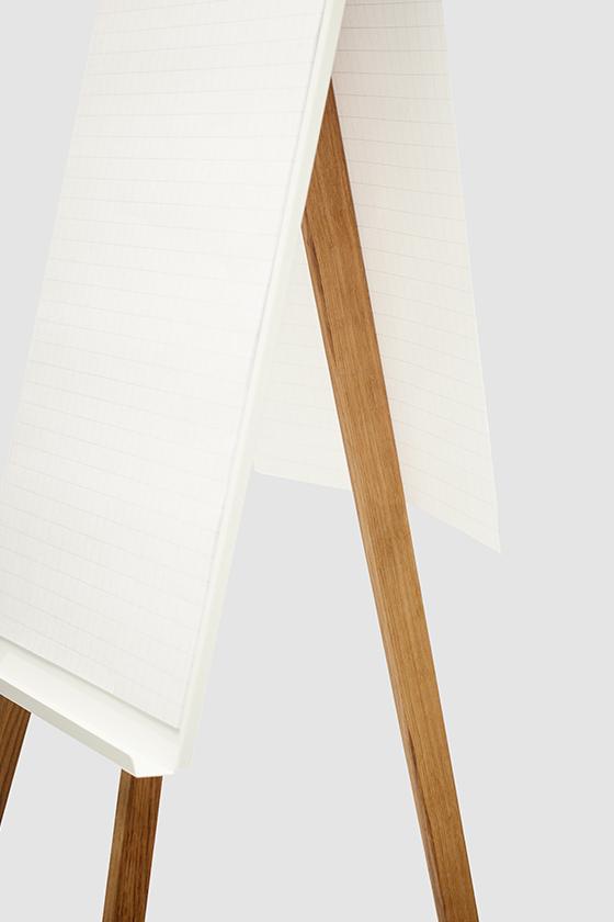 Flipchart-Design-Holz-magnetisch-Charter-weiss