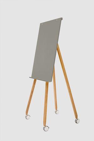 Flipchart-Design-Holz-magnetisch-mobil-Freewheelin-grau