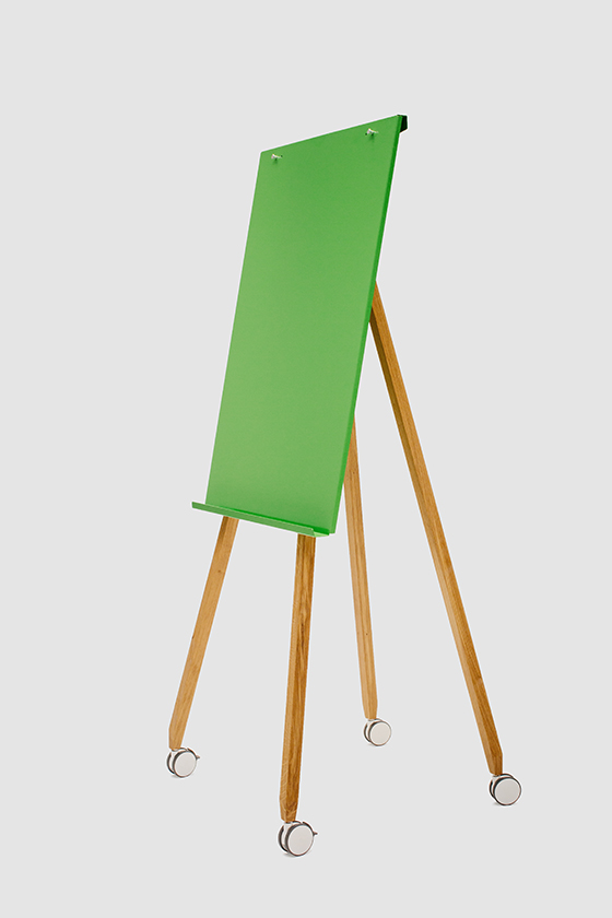 Flipchart Freewheelin', green