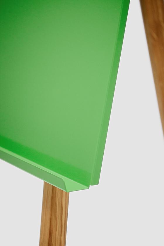 Flipchart-Design-Holz-magnetisch-mobil-Freewheelin-gruen