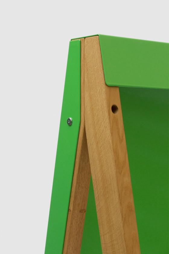 Flipchart-Design-Holz-magnetisch-mobil-Charter on Tour-gruen