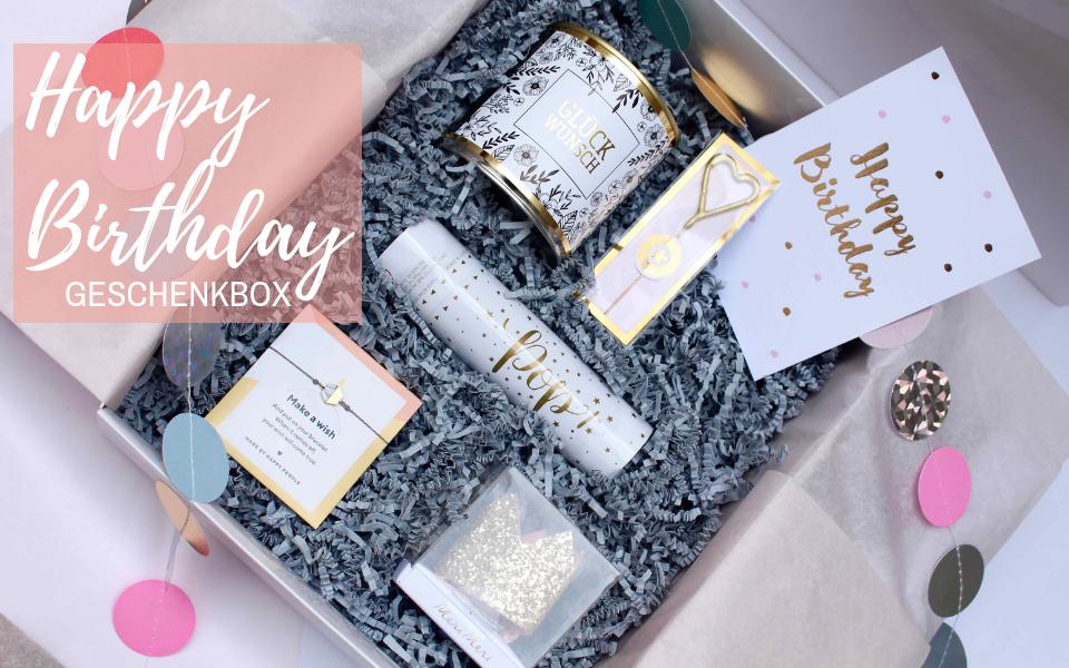 Geschenkbox zum Geburtstag | Geschenk für Frauen