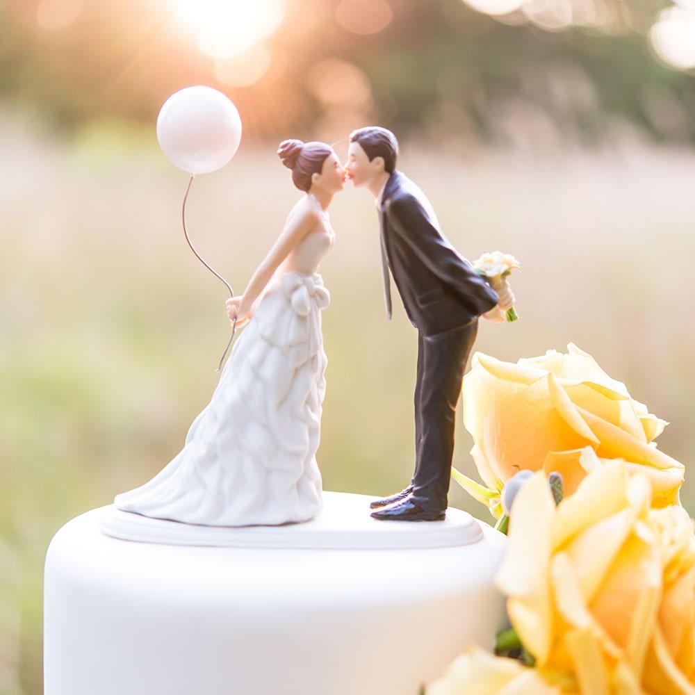 Tortenfigur Ballon Fur Hochzeitstorten Van Harte Dekoration