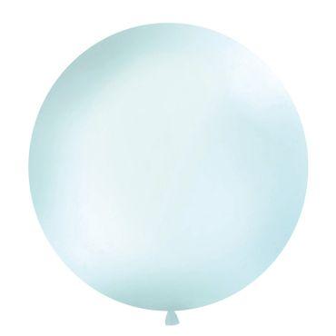 6 Crystal Ballons Herzen mint klar transparent Partydeko Luftballons Hochzeit