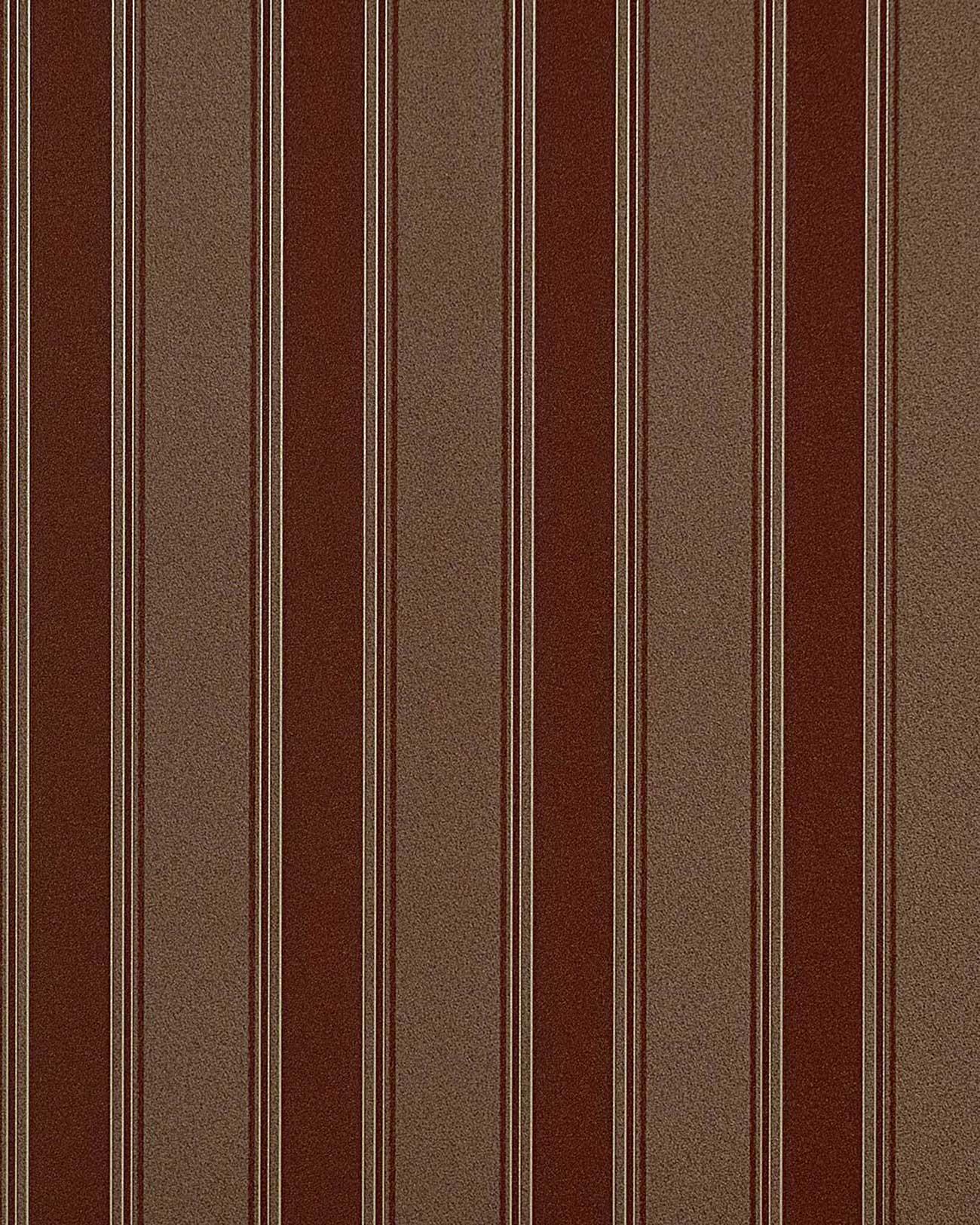 EDEM 827-26 tapete barock opulence streifen rot-braun kakao-braun ...