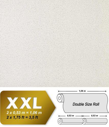 Uni Vliestapete EDEM 917-20 Tapete in XXL Hochwertige Luxus geprägte Struktur silber-grau platin | 10,65 qm
