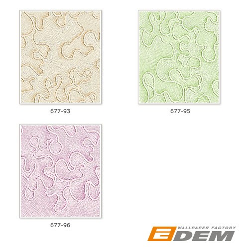 Wall wallpaper wallcovering EDEM 677-96 XXL decor textured non-woven light pink silver  – Bild 4