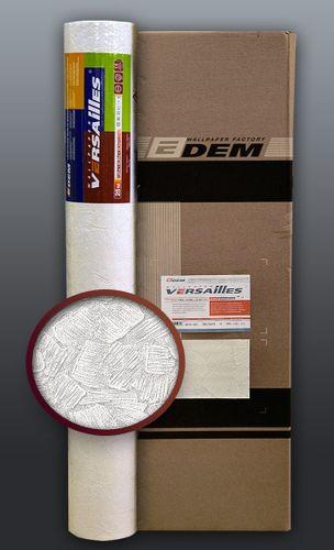 Vliesbehang overschilderbaar EDEM 309-60 behang structuurbehang reliëfbehang wit | 4 rol 106 m2 – Bild 1