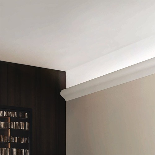 Cornice Moulding 2 m Orac Decor C364 LUXXUS Indirect lighting Ceiling coving decoration  – Bild 3