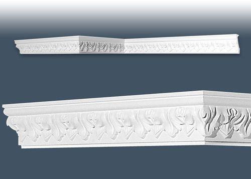 1 MUSTERSTÜCK S-C214 Orac Decor LUXXUS | MUSTER Eckleiste Stuckleiste ca. 10 cm lang – Bild 3