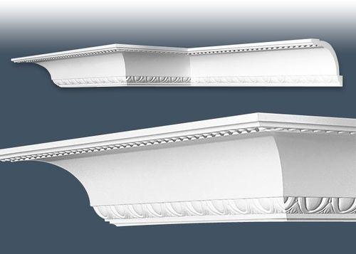 1 MUSTERSTÜCK S-C216 Orac Decor LUXXUS | MUSTER Eckleiste Stuckleiste ca. 10 cm lang – Bild 3