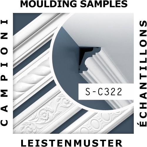 MUSTER Zierleiste Musterstück C322 – Bild 2