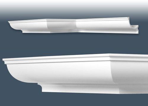 1 MUSTERSTÜCK S-C902 Orac Decor LUXXUS | MUSTER Eckleiste Deckenleiste ca. 10 cm lang – Bild 3