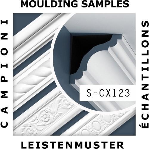 MUSTER Eckleiste Musterstück CX123 – Bild 2