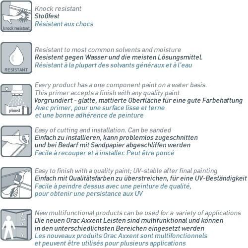 MUSTER Zierprofile Musterstück CX161 – Bild 5