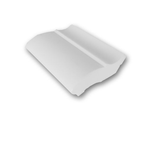 1 CAMPIONE S-CB501 Orac Decor BASIXX | CAMPIONE di modanatura Cornice soffitto parete Lunghezza circa 10 cm – Bild 1