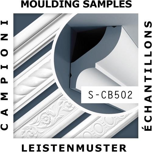 1 ÉCHANTILLON S-CB502 Orac Decor BASIXX | Échantillon Corniche pour plafond Moulure décorative Longueur env. 10 cm – Bild 2