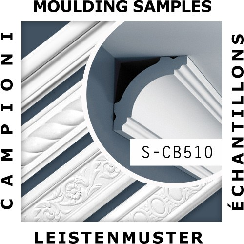 ITEM SAMPLES moulding Orac Decor ORIGINAL BASIXX S-CB510 – Bild 2