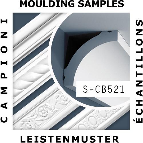 1 ÉCHANTILLON S-CB521 Orac Decor BASIXX | Échantillon Corniche Moulure décorative Longueur env. 10 cm – Bild 2