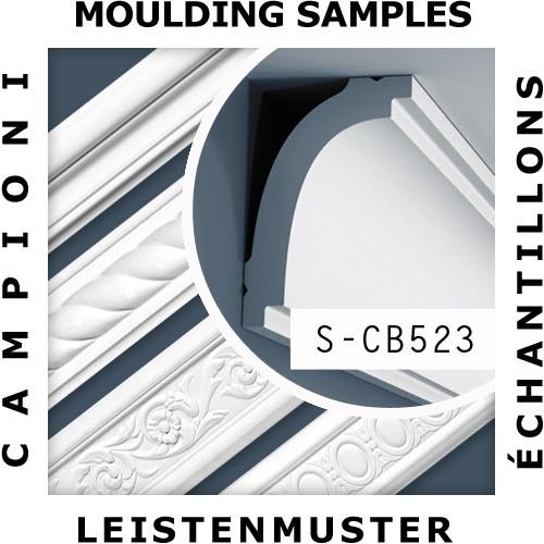 1 PIEZA DE MUESTRA S-CB520 Orac Decor BASIXX | MUESTRA Cornisa Moldura decorativa Longitud aprox 10 cm – Imagen 2