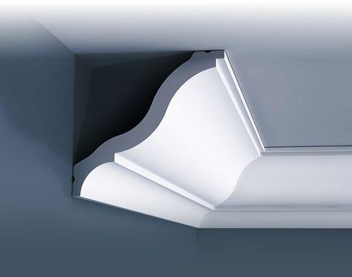 1 CAMPIONE S-CB503 Orac Decor BASIXX | CAMPIONE di modanatura Cornice soffitto parete Lunghezza circa 10 cm – Bild 3
