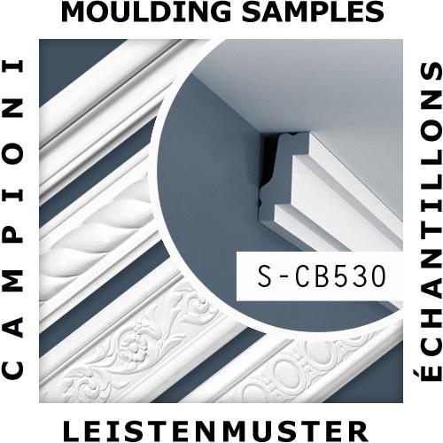 1 ÉCHANTILLON S-CB530 Orac Decor BASIXX | Échantillon Corniche Moulure décorative Longueur env. 10 cm – Bild 2