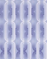 Wall covering Wallpapers retro 70s style wall EDEM 038-22 graphical pattern pastel lilac blue white glitter