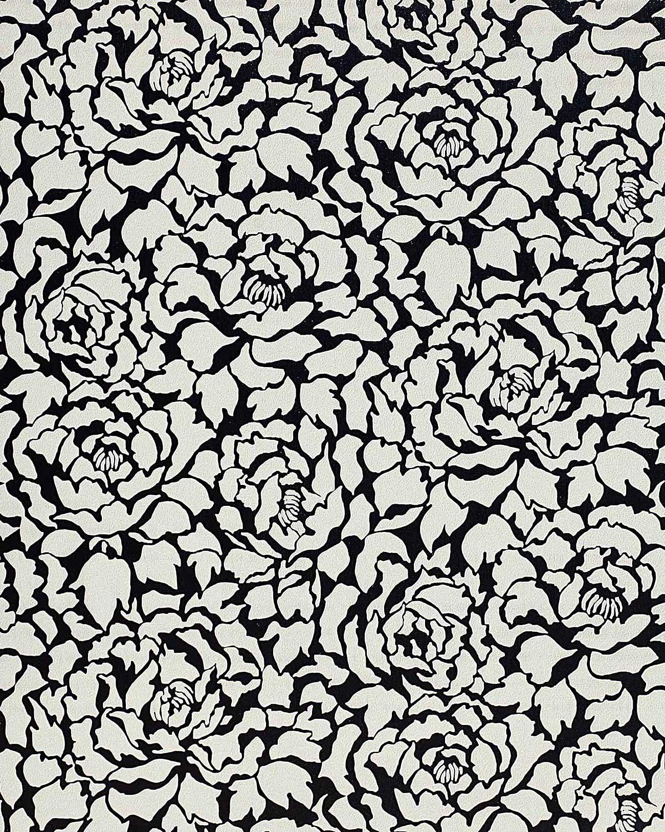 Edem 830 20 Deluxe Florale Struktur Tapete Pfingstrose Blumen