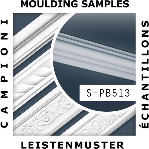 1 ÉCHANTILLON S-PB513 Orac Decor BASIXX | Échantillon Cimaise Moulure décorative Longueur env. 10 cm – Bild 2