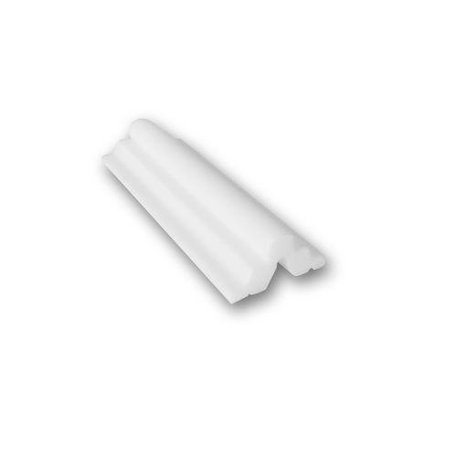 1 MUSTERSTÜCK S-PB513 Orac Decor BASIXX | MUSTER Wandleiste Stuckleiste ca. 10 cm lang – Bild 1