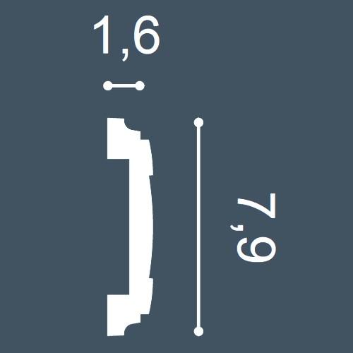 MUSTER Profilleiste Musterstück PX102 – Bild 4