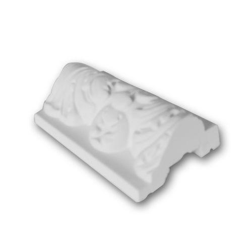 1 PIEZA DE MUESTRA S-CX124 Orac Decor AXXENT   MUESTRA Cornisa para techo Moldura decorativa Longitud aprox 10 cm – Imagen 1
