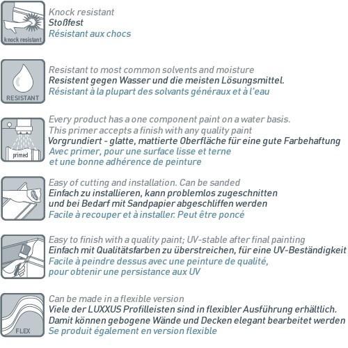 MUSTER Profilleiste Musterstück P5021 – Bild 5