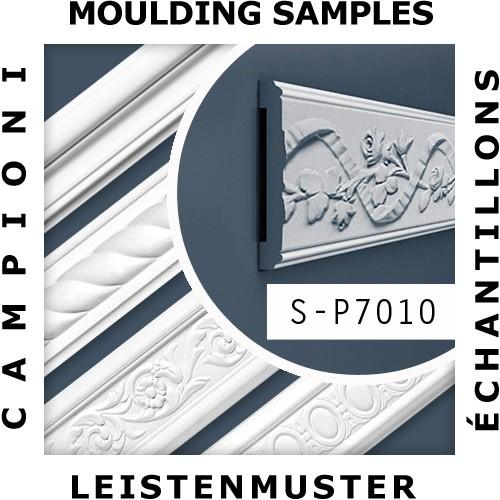 1 PIEZA DE MUESTRA S-CX134 Orac Decor AXXENT | MUESTRA Cornisa Moldura para techo Longitud aprox 10 cm – Imagen 2