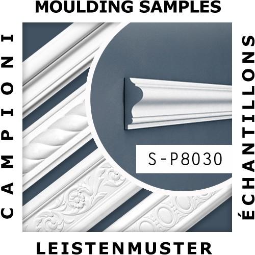 MUSTER Deckenleiste Musterstück P8030 – Bild 2
