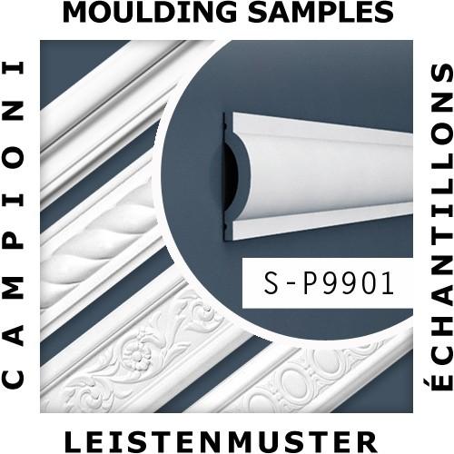 1 PIEZA DE MUESTRA S-CX177 Orac Decor AXXENT   MUESTRA Cornisa Moldura para techo Longitud aprox 10 cm – Imagen 2