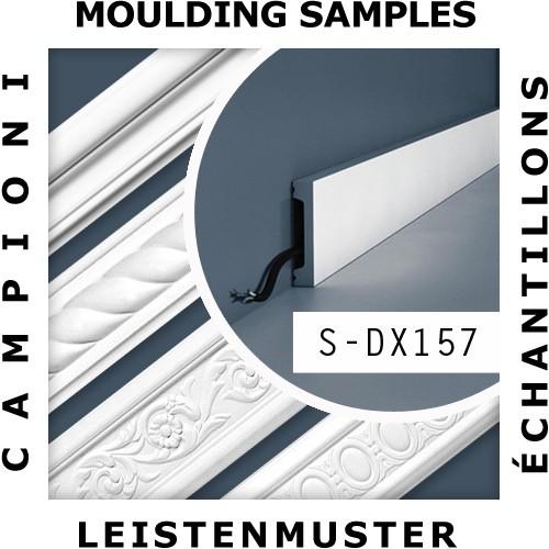 1 CAMPIONE S-DX157-2300 Orac Decor AXXENT | CAMPIONE di modanatura Incorniciatura porte multifunzionale Lunghezza circa 10 cm – Bild 2