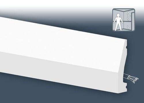 1 MUSTERSTÜCK S-DX159-2300 Orac Decor AXXENT | MUSTER Türumrandung Multifunktionale Leiste ca. 10 cm lang – Bild 3