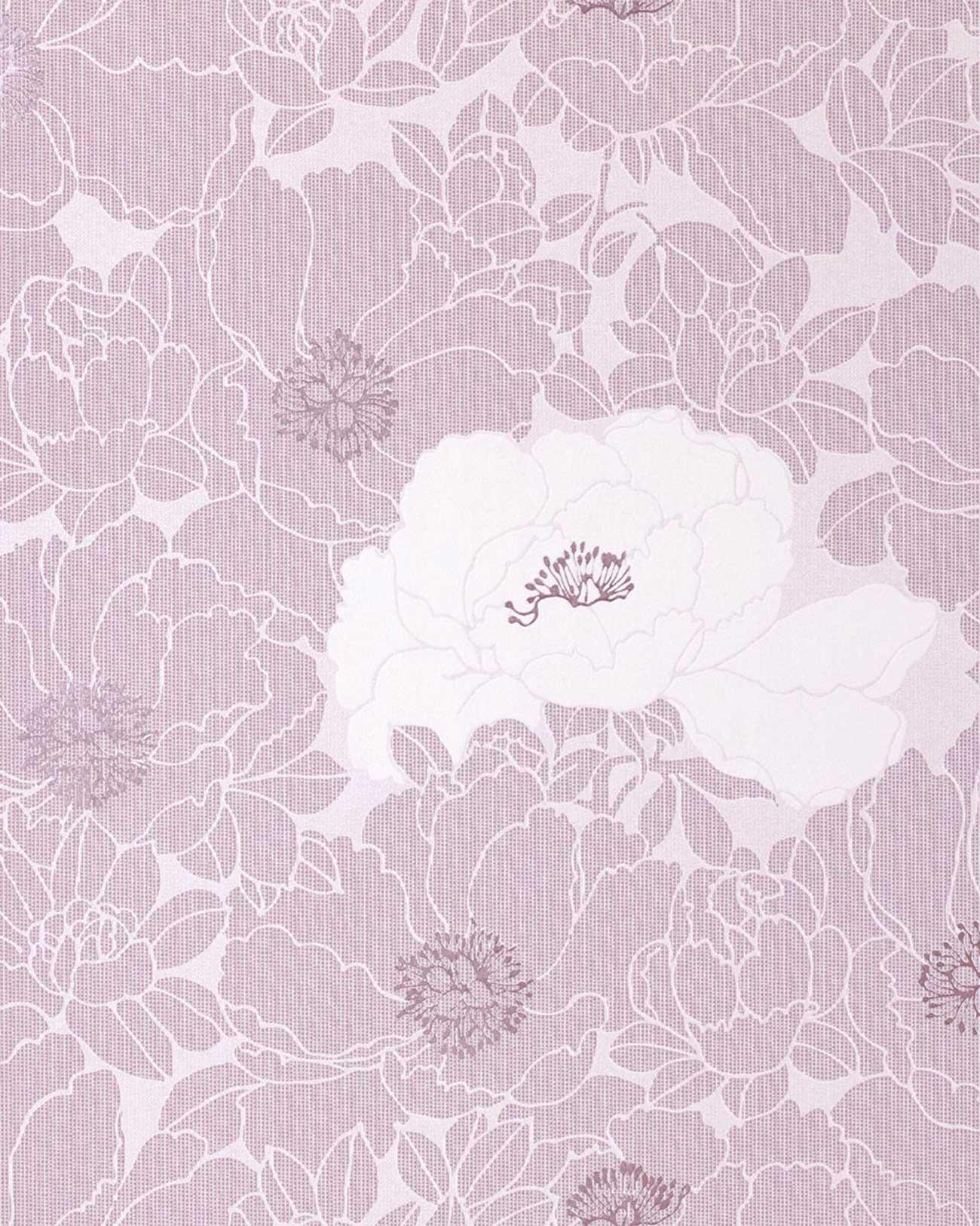 Wallpaper Wall Wallcovering Flower Floral Vinyl Edem 025 24