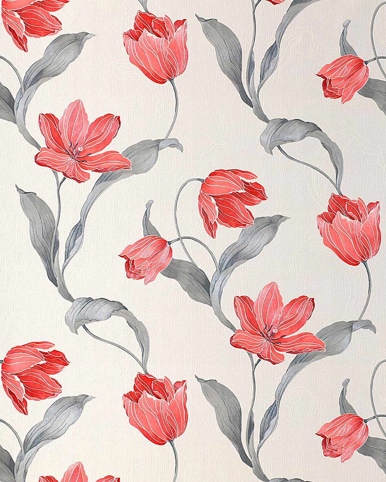 Blumen tapete landhaus edem 828 20 deluxe tulpen for Tapete blumen