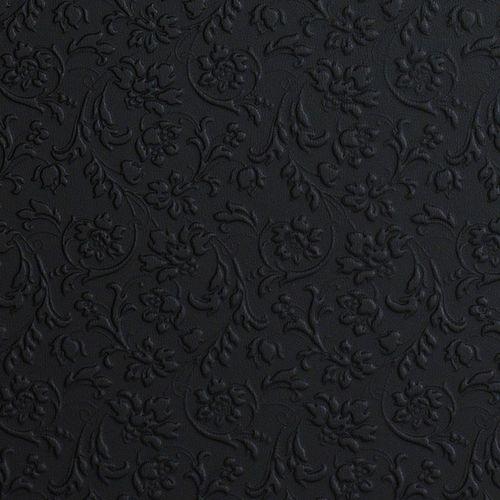 Rivestimento murale autoadesivo Pannello per interni WallFace 13472 FLORAL e pareti barocco floreale nero 2,60 mq – Bild 5