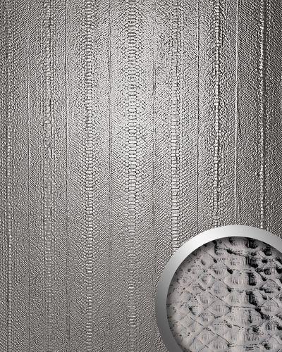 Snake design rev tement mural auto adh sif wallface 14299 for Revetement mural simili cuir
