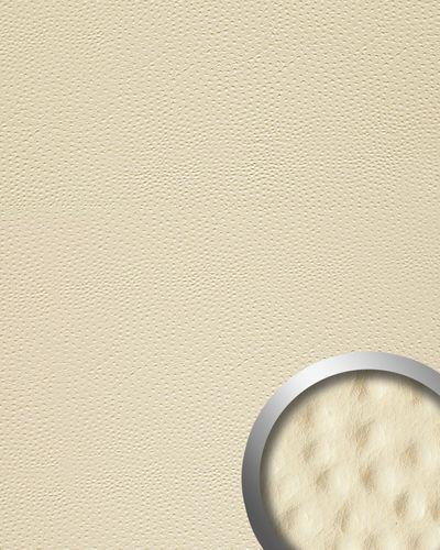 Dekorpaneel 13401 OSTRICH Kunstleder Straußenoptik Creme