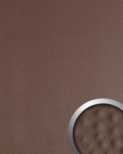 Wandpaneel Strauß Leder Luxus 3D WallFace 13403 OSTRICH Blickfang Dekor selbstklebend Tapete Verkleidung braun | 2,60 qm – Bild 1
